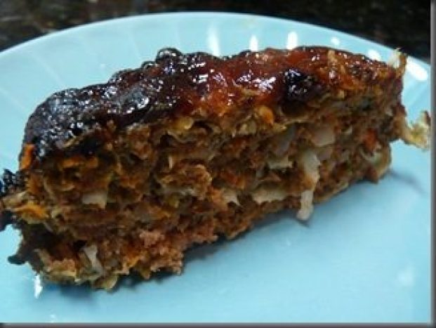 Meatloaf Loaded With Veggies!