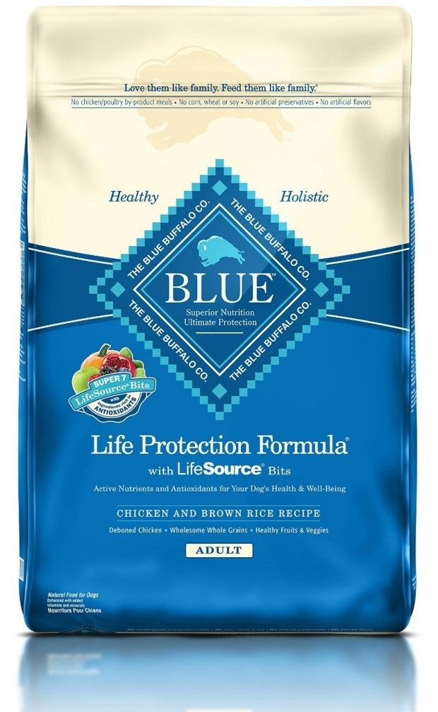 Blue Buffalo Life Protection Dry Adult Dog Food Only $25.99!