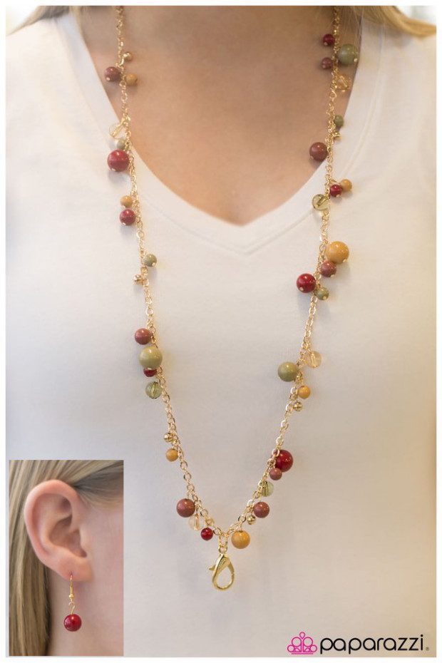 Get Down To Business Necklace & Earrings Only $5!