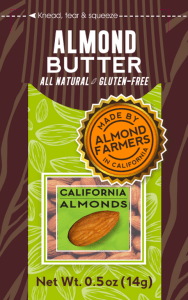 FREE California Almond Butter Sample!