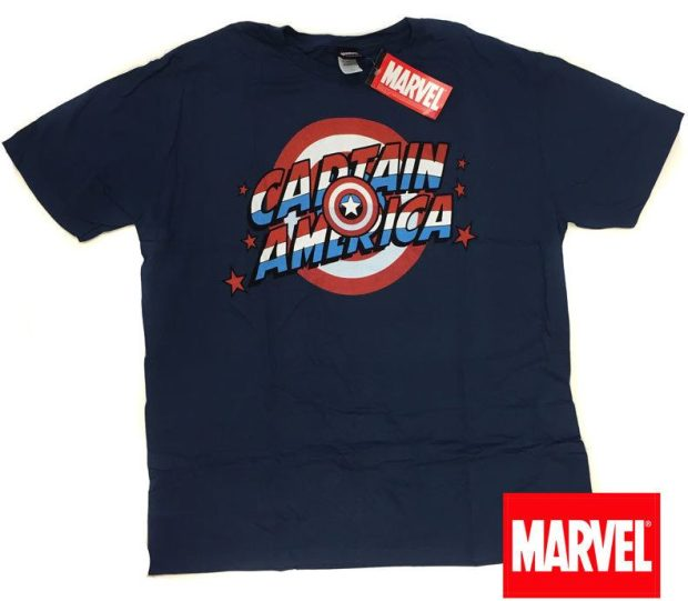 Licensed Captain American Tee Only $5.99 Plus FREE Shipping!