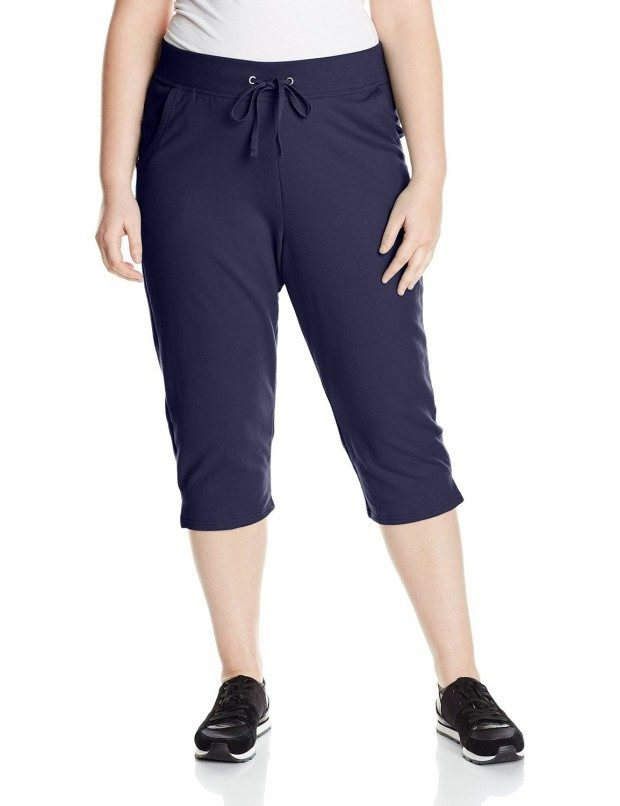 Just My Size Women's French Terry Capri Starting At $2.84!
