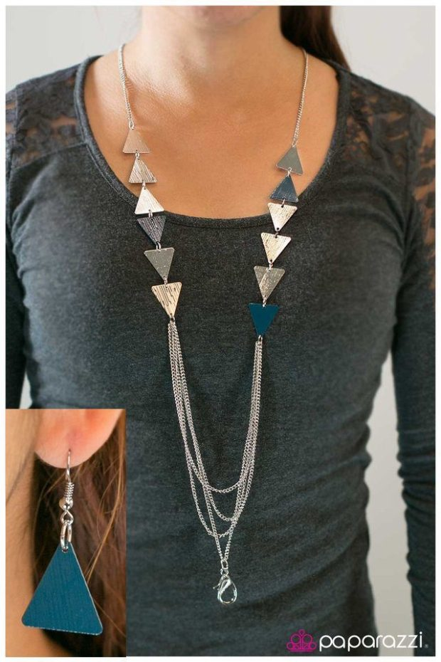Career Woman Necklace/Lanyard And Earrings Just $5!