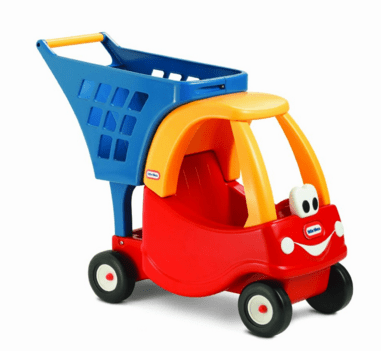 Little Tikes Cozy Shopping Cart Red/Yellow Just $28.95 Down From $41!