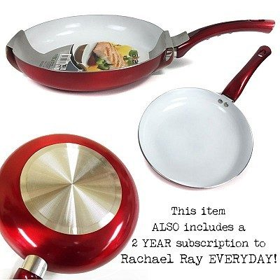 """Ceramic Non-Stick Coated 10"""" Pan Just $12.49 Shipped! Buy 2 Get 1 FREE!"""