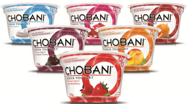 FREE Select 5.3 Oz Chobani Greek Yogurt!