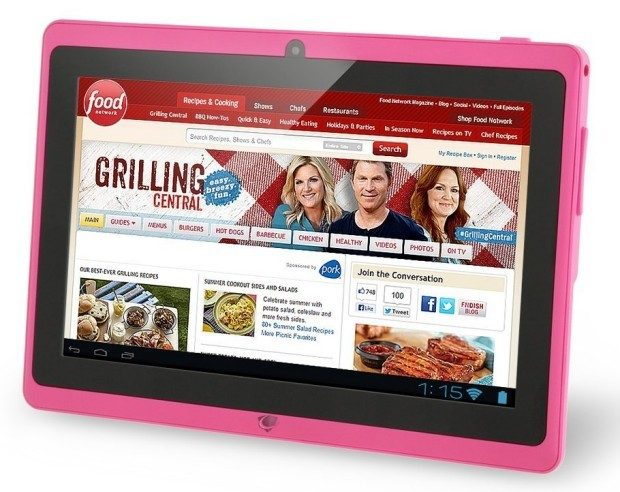 "Chromo Inc 7"" Tablet Google Android 4.4 Pink Only $37.99! (Reg. $170!)"