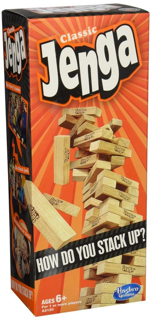 Jenga Classic Game Only $8.59!  Down From $12.99!
