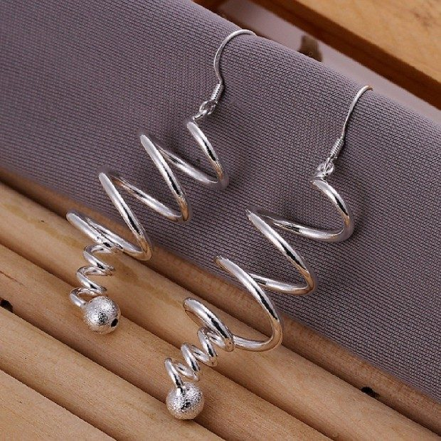 Coiled Fashion Earrings Only $3.26!  Ships FREE!