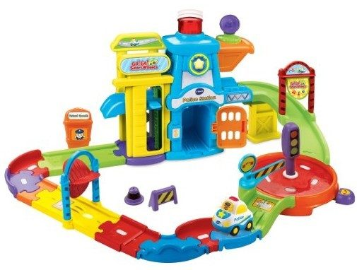 VTech Go! Go! Smart Wheels Police Station Playset Just $15.49!  Down From $30!