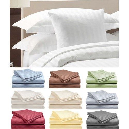 Hotel Cotton Sateen Sheets Queen Only $18.99 Plus FREE Shipping!
