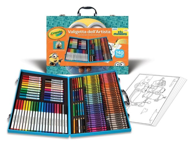 Minions Crayola Inspiration Art Case - Was $34 Now Only $19.97!