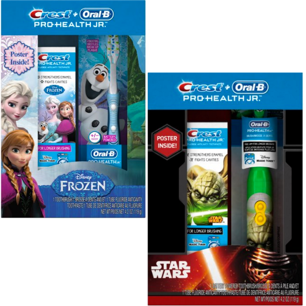 Oral-B Crest and Pro-Health Junior Toothbrush Special Pack Just $7.99!