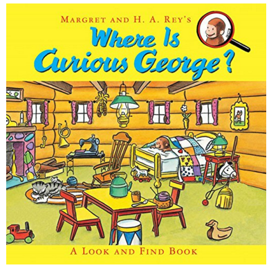 Where Is Curious George?: A Look And Find Book Just $5.52 Down From $10!