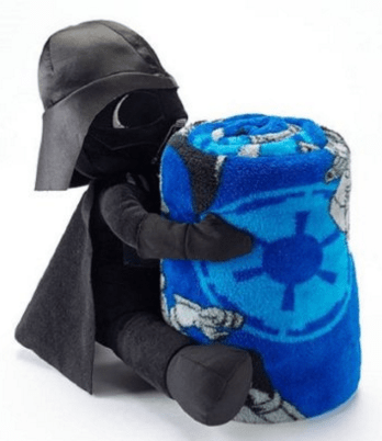 Star Wars The Force Awakens Plush Throw &Darth VaderJust $18.10 Down From $50!