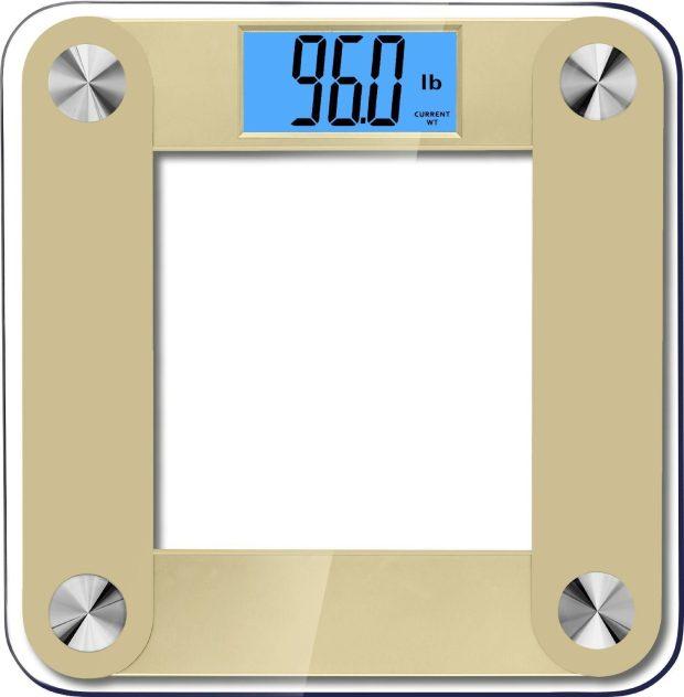 High Accuracy Plus Digital Bathroom Scale Only $13.95! (Reg. $60!)