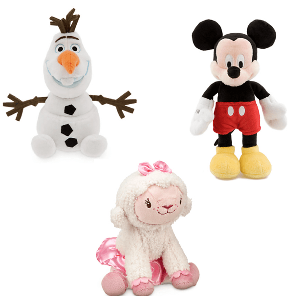Buy One Plush Get One For Only $1 At The Disney Store!