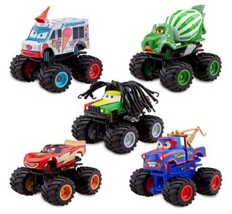 Disney Deluxe Monster Truck Mater Figure Set Just $23.90 Down From $50!
