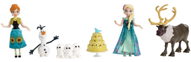 Disney Frozen Fever Birthday Party Small Doll Set Just $8.67 Down From $26!