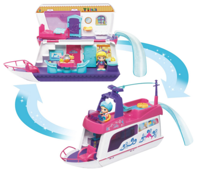 VTech Flipsies Sandy's House And Ocean Cruiser Doll House Just $13 Down From $42!