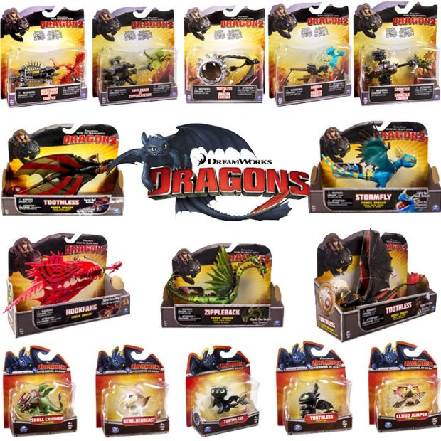 How To Train Your Dragon Action Figures Only $5.99 Plus FREE Shipping!