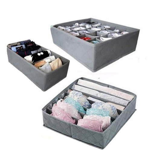 3 Piece Lingerie Drawer Organizer Set Only $5.95 Plus FREE Shipping!
