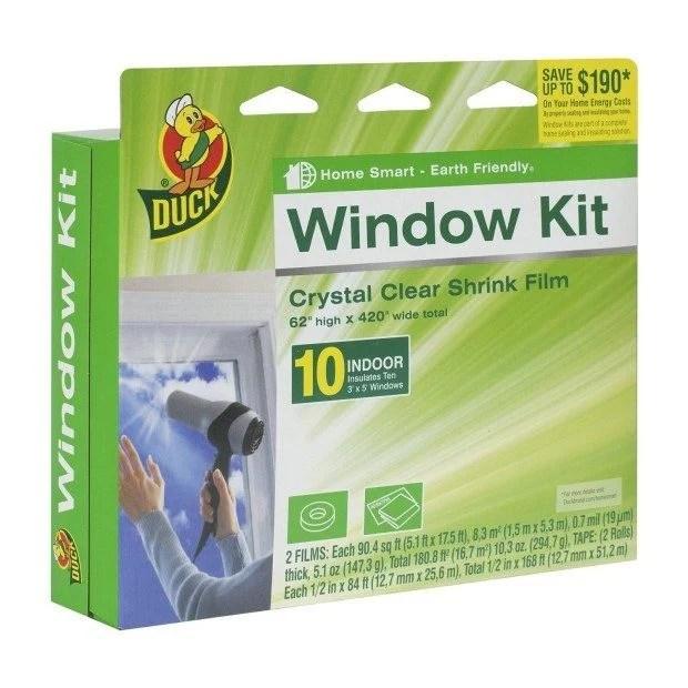 Duck Brand 10-Window Shrink Film Insulator Kit Only $9.84 (Reg. $20!)