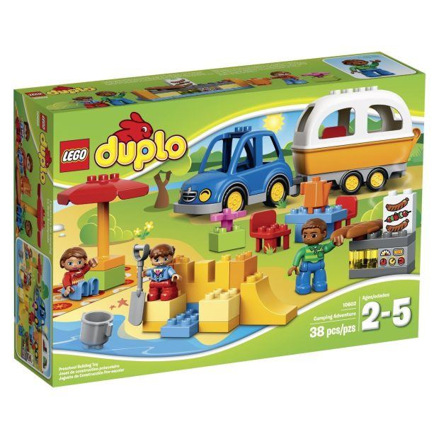 LEGO DUPLO Town 10602 Camping Adventure Building Kit Was $30 Just $17.99!