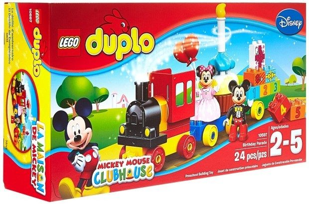 DUPLO Mickey & Minnie Birthday Parade Kit Only $20.46!