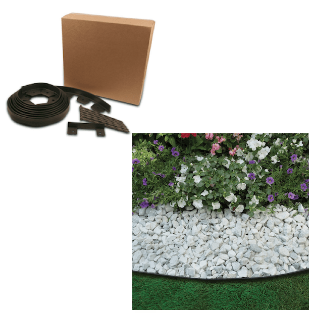 EasyFlex No-Dig Edging Kit, 20-Feet Only $12.79!