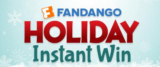 Fandango Holiday Instant Win!