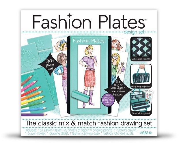 Fashion Plates Deluxe Kit Only $21.49!