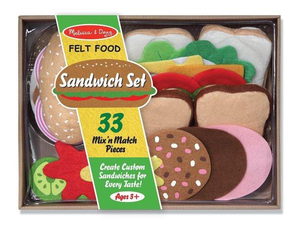 Melissa & Doug Felt Food - Sandwich Set Only $16.02!
