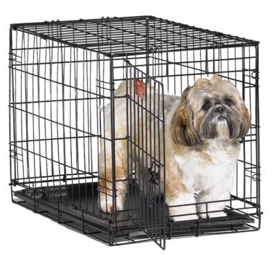 Single Door Small Pet Crate Just $22.99 ! (Reg. $50)