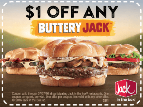 FREE Offers & Stuff From Jack In The Box!