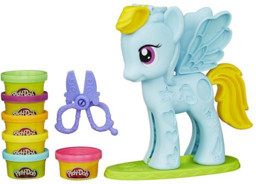 Play-Doh My Little Pony Rainbow Dash Style Salon Playset Only $5 (Was $17)!