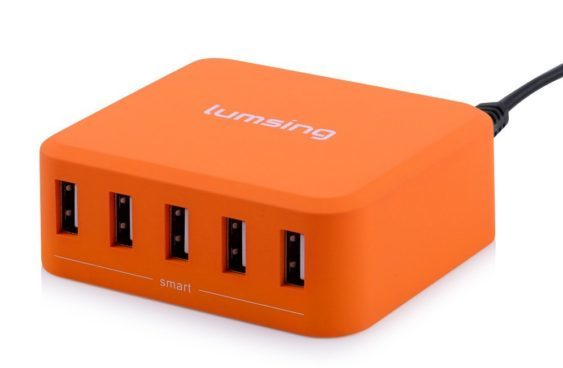 Lumsing 5-Port USB Desktop Charger Only $8.99 (Was $24)