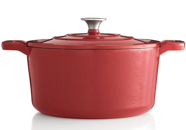 Food Network 5.5-qt. Enameled Cast-Iron Dutch Oven Just $33.99!
