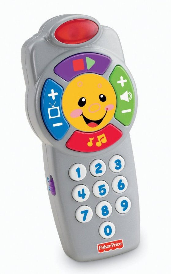 Fisher-Price Laugh and Learn Click'n Learn Remote Just $5.05!