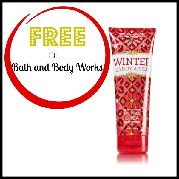 free Full-Size Body Cream At Bath & Body Works
