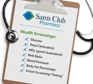FREE Health Screenings At Sam's Club (7/11 Only)!