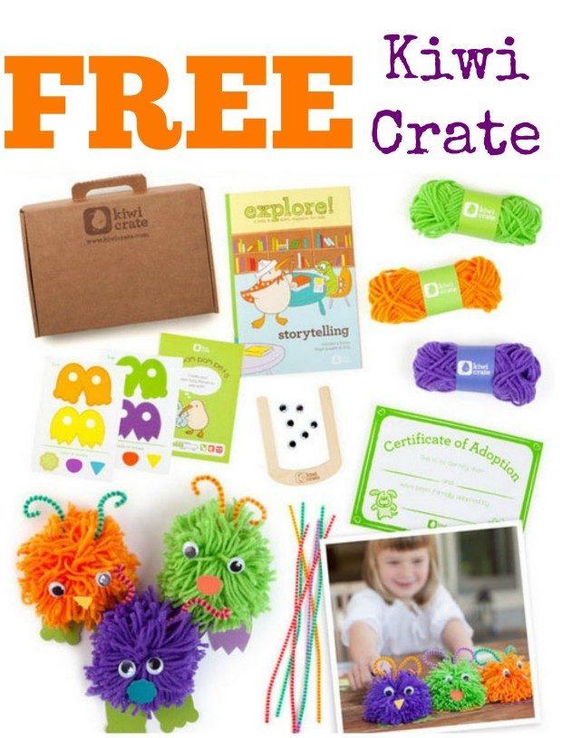 FREE Kiwi Crate Box!