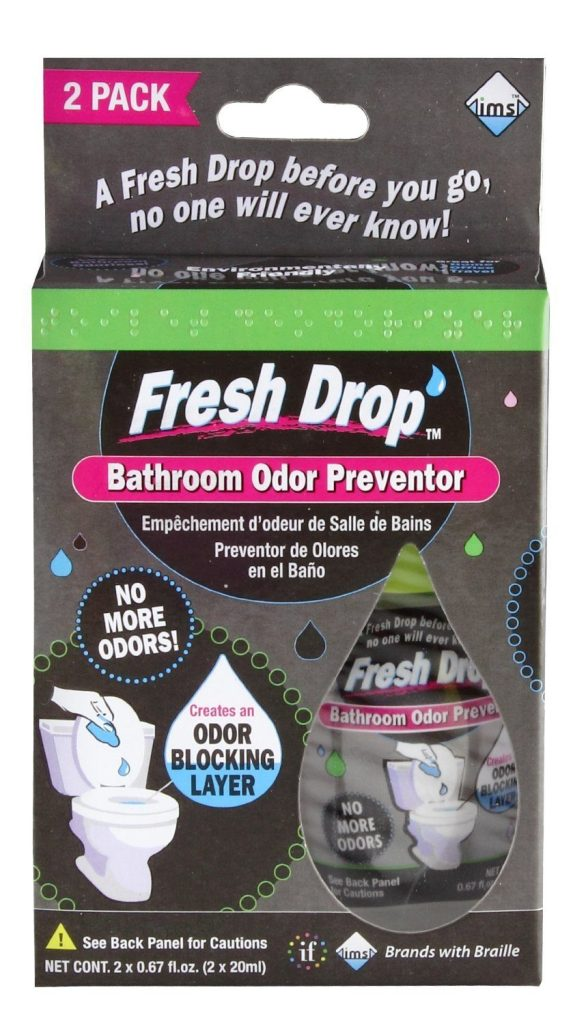 Fresh Drop Bathroom Odor Preventor, 2-Pack Now Only $2.59!