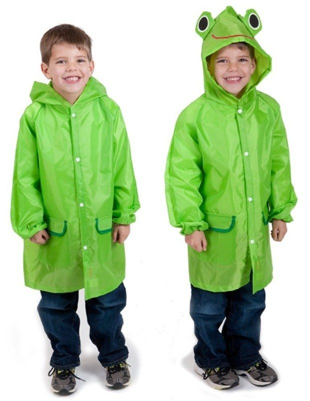 Froggy Raincoat, for ages 5-12 One Size Fits All Just $7.50! (Reg. $12.99!)