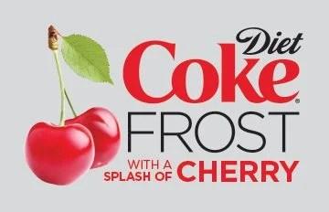 Small Diet Coke Frost With A Splash of Cherry Slurpee!