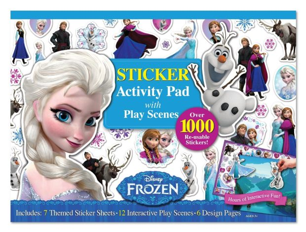 Frozen Ultimate Sticker & Activity Book Only $5.85! (Reg. $12.99)