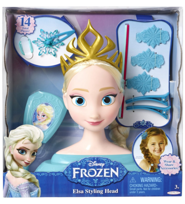 Disney Frozen Elsa Styling Head Just $26 Down From $40!