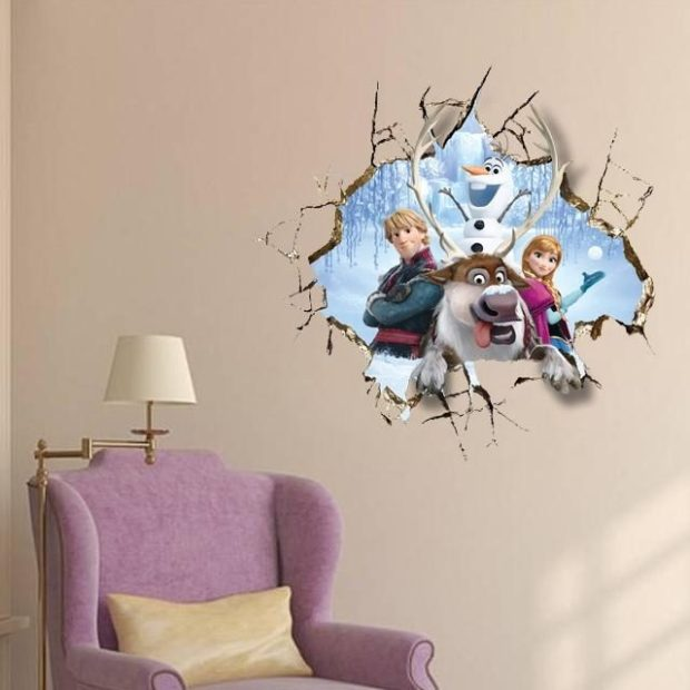 Frozen Inspired 3D Wall Decal Only $7.04 Shipped!