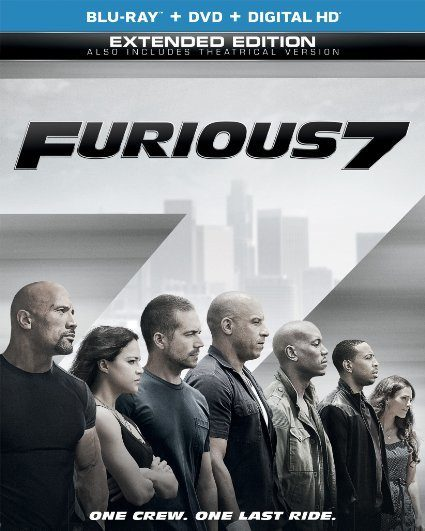 Furious 7 (Blu-ray + DVD + DIGITAL HD with UltraViolet) Just $14.51! (Reg. $35!)