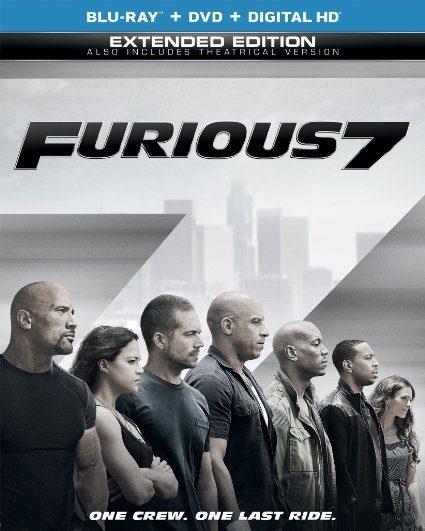 Furious 7 (Blu-ray + DVD + DIGITAL HD with UltraViolet) Just $14.51! (Reg. $35!)